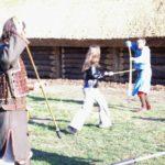 A-25-nauka walki włócznią-Dale-Anglik-Julka-DOBRE
