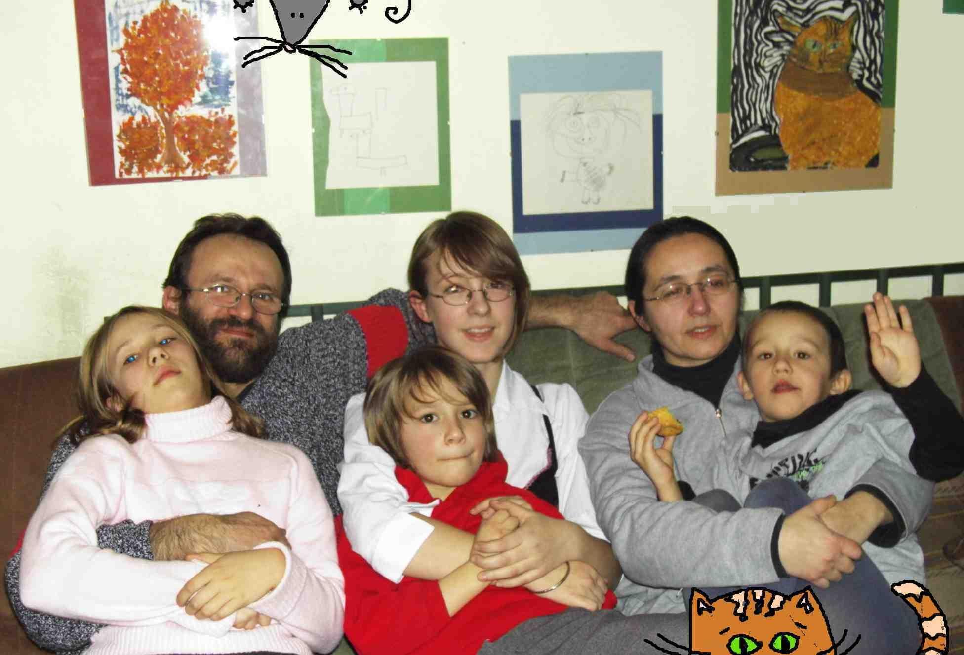 rodzinka Kogutów